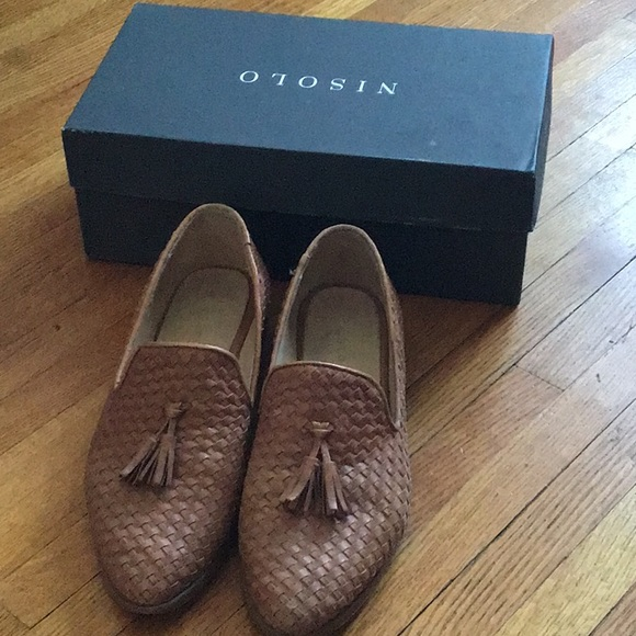 Nisolo Frida Woven Loafer Size 10